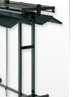 High Capacity Folding Coat Racks