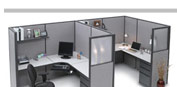 Storlie - Reception Stations &amp; Office Partitioned Cubicles