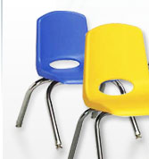 ECR4KIDS School Stack Chairs