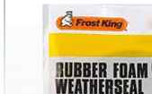 Frost King Weatherstrip Tape