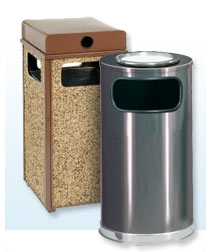 Ash &amp; Trash Cans