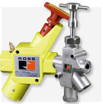 Ross&#174; Manual Pneumatic Lockout Valves