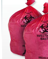 Hi-Density Red Infectious Waste Liners