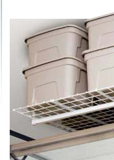 Ceiling &amp; Wall Mounted Garage Storage Units