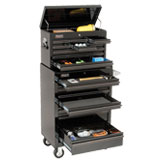 Black Finish Tool Storage